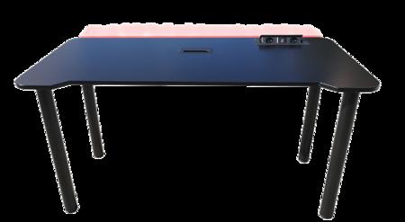 BIURKO GAMINGOWE dla GRACZY EasyDesk HyperLED BLACK