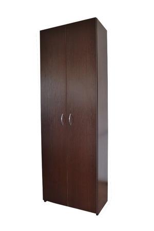 SZAFA BIUROWA REGAŁ Z 5 półkami z zamkiem RODO 80cm, 5 półek